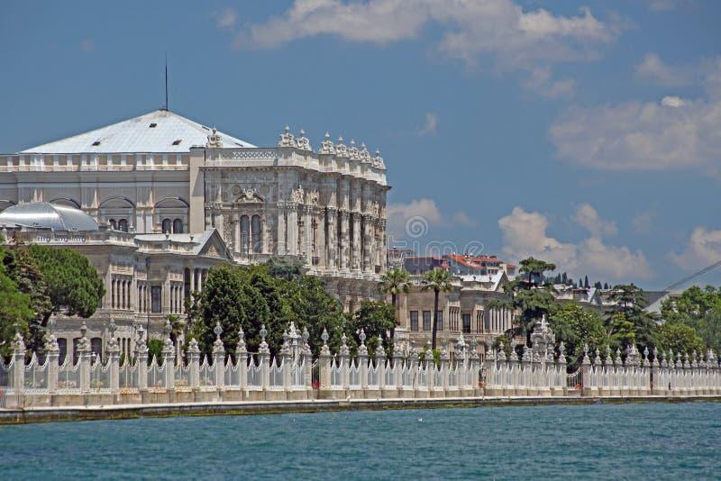 Osmański Dolmabahce Pałac, obrazy stock