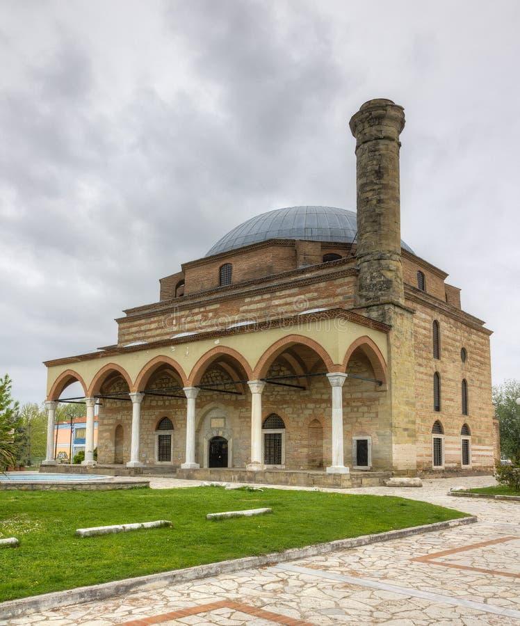 Osman Shah Moschee, Trikala, Griechenland stockbild