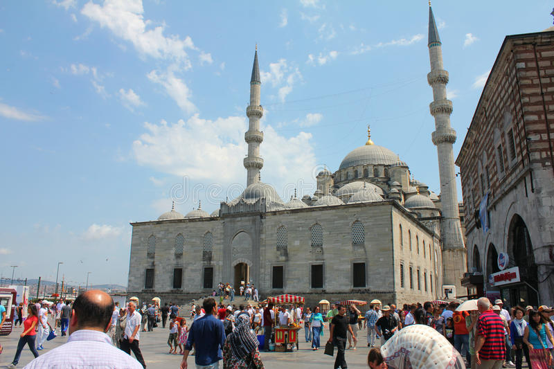 Osmane-Moschee in Istanbul, die Türkei stockfotos