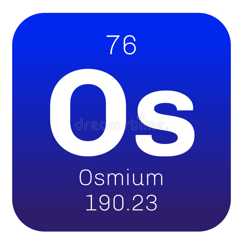 Osmium Chemical Element Stock Vector Illustration Of Laboratory