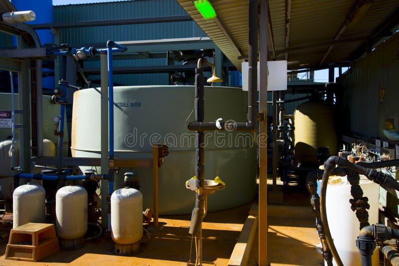Osmose reversa industrial foto de stock royalty free