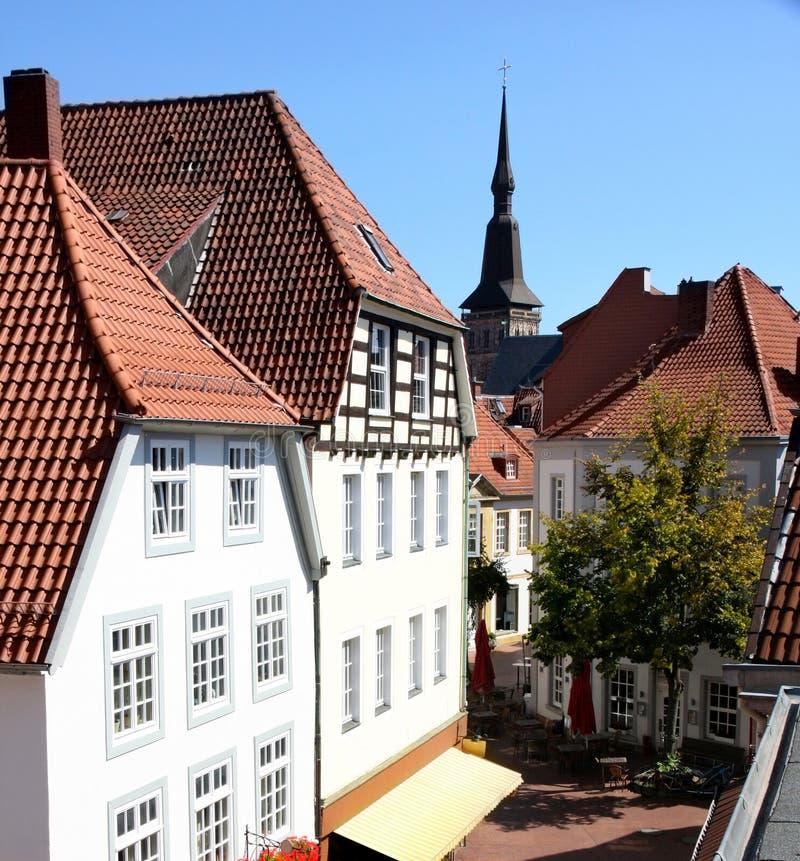 Osnabruck Tyskland royaltyfria foton