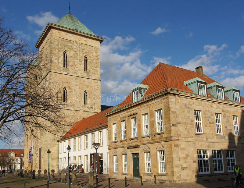 Osnabrueck,德国 免版税库存照片