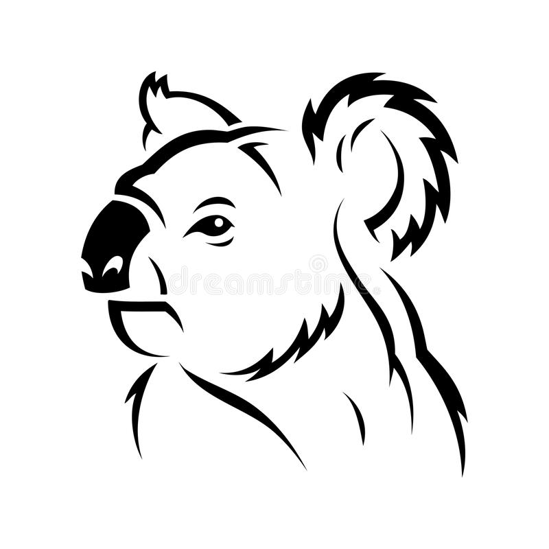 Oso de koala ilustración del vector