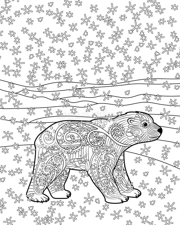 Excepcional Colorante De Oso Polar Friso - Dibujos Para Colorear En ...