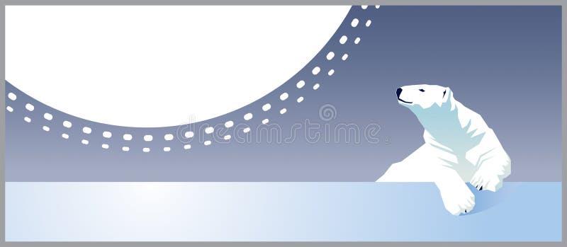 Oso polar ilustración del vector