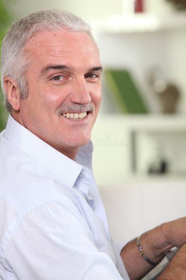 osoba starszy portret obraz royalty free