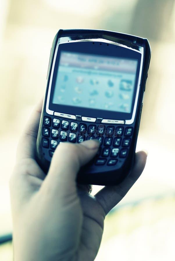 osobiste urządzenia komunikacyjne obraz stock