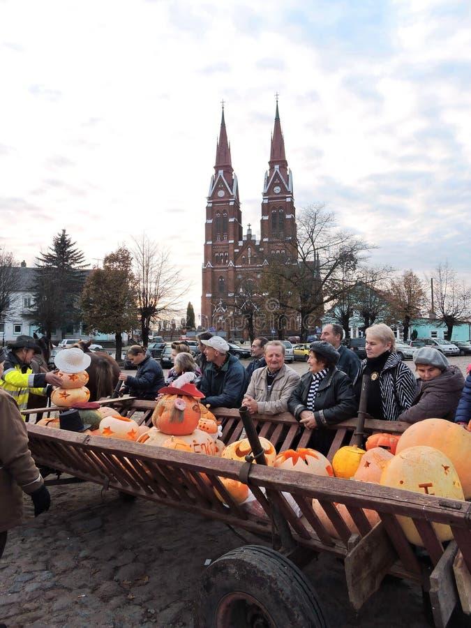 Osobistości banie w Sveksna, Lithuania obrazy royalty free