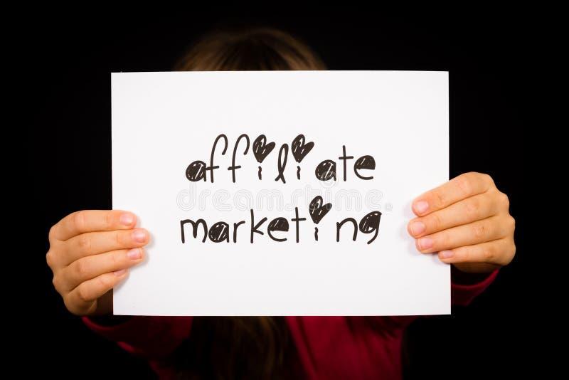 Osoby mienia filii marketingu znak fotografia royalty free