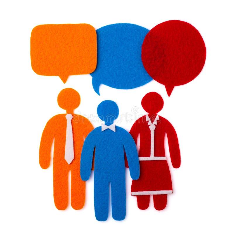 Osoby poglądowe Socjologiczny badanie Pojęcie drużynowa praca Społeczności Podłączeniowego społeczeństwa Ogólnospołeczny Medialny zdjęcie royalty free