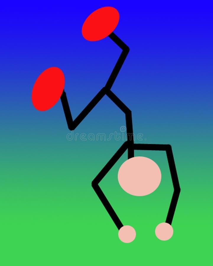 Download Osoby upsidedown ilustracji. Ilustracja złożonej z góra - 132147
