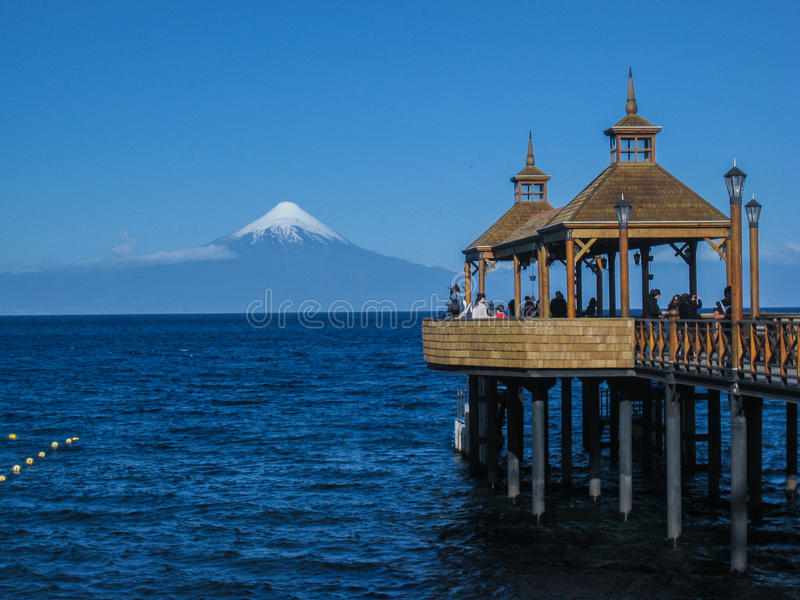 Download Osorno Volcano in Chile editorial stock image. Image of tourism - 39506389