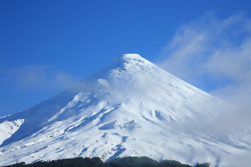 Osorno Volcano, Patagonia royalty free stock photography
