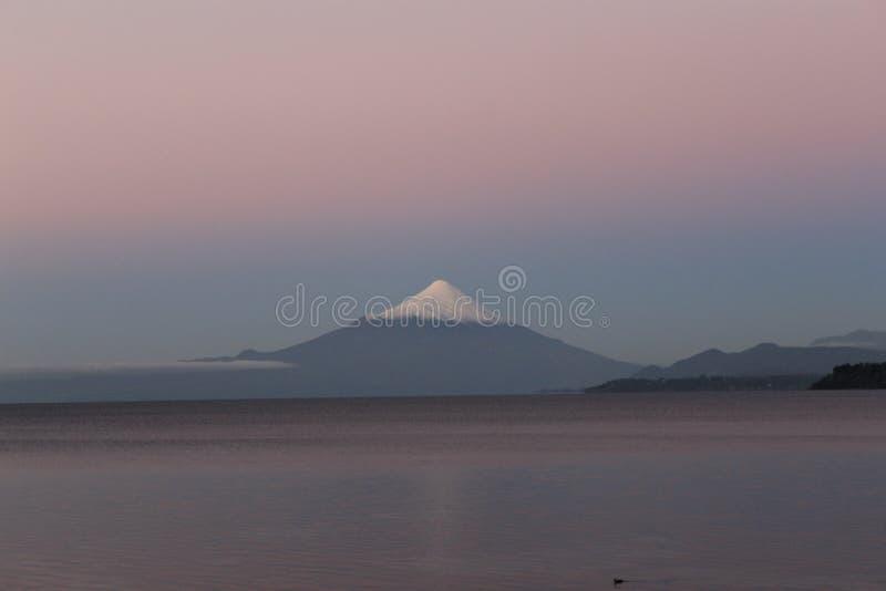 Osorno Vulcan imagen de archivo
