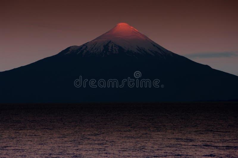 Osorno wulkan fotografia royalty free
