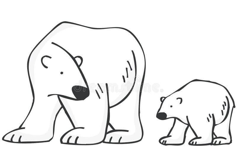 Osos polares libre illustration