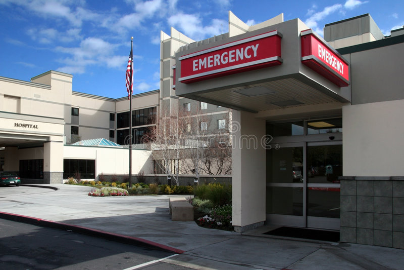 Ospedale fotografia stock libera da diritti