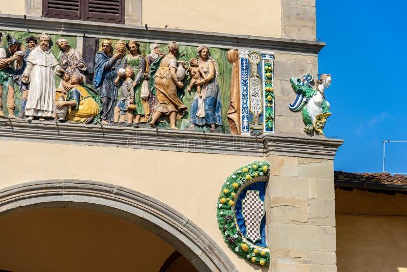Ospedale del Ceppo ? Pistoie Toscane Italie photo libre de droits
