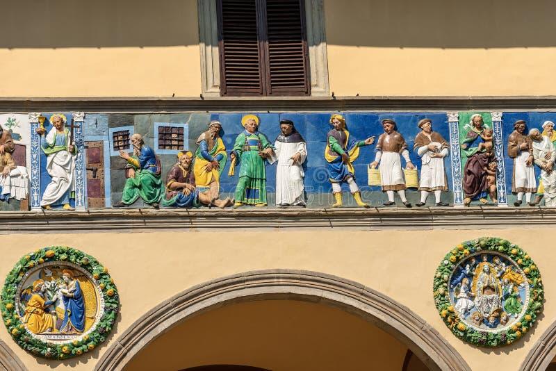 Ospedale del Ceppo ? Pistoie Toscane Italie photos stock