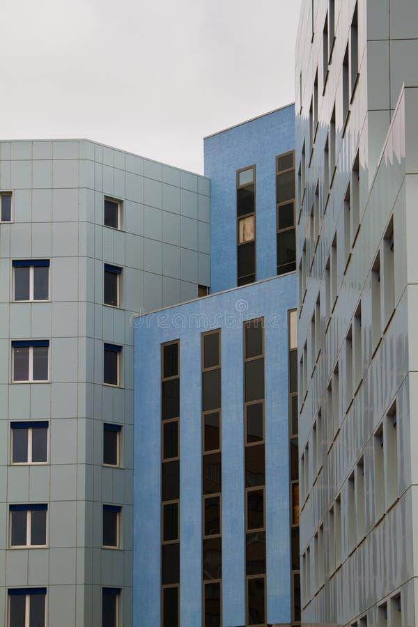 Ospedale della città fotografia stock