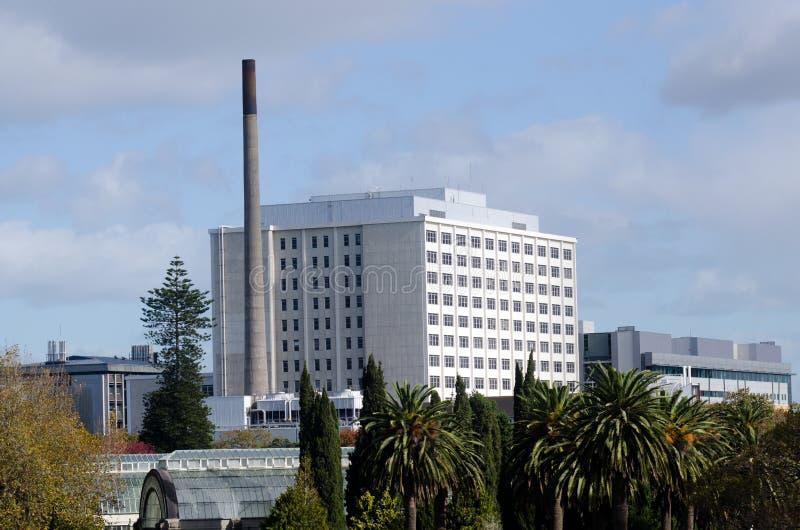 Ospedale della città di Auckland immagini stock libere da diritti