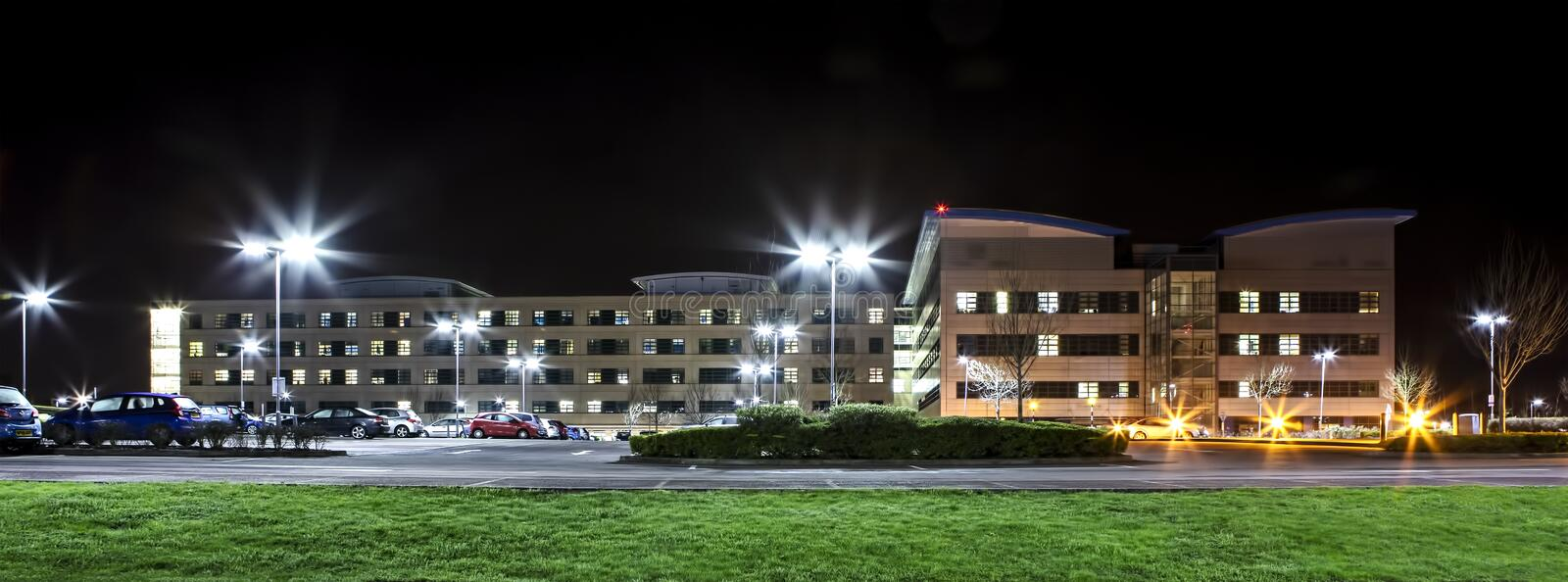 Ospedale di Swindon Great Western fotografie stock