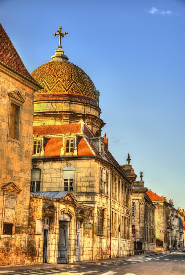 Ospedale Saint-Jacques di Besancon - la Francia immagine stock libera da diritti
