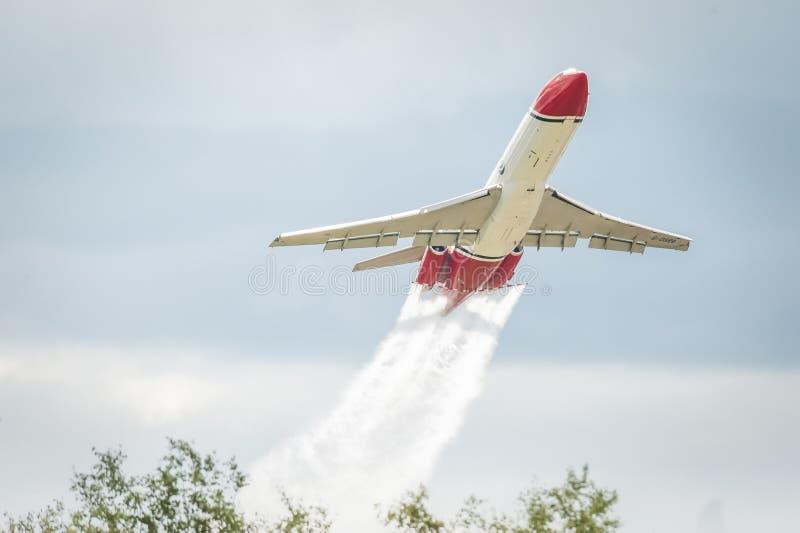 OSRL Boeing 727 stock foto