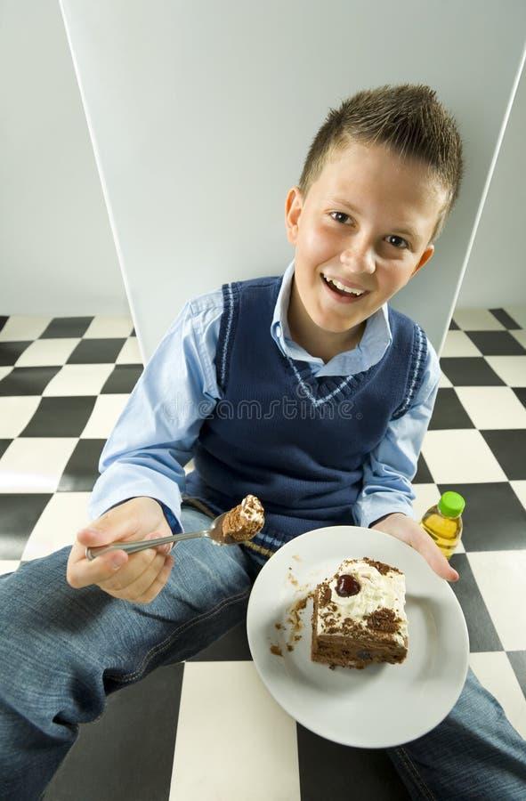 Osserva appetitoso. fotografia stock