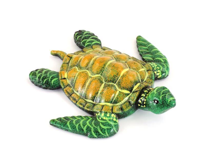 Osservando giù la tartaruga immagini stock libere da diritti