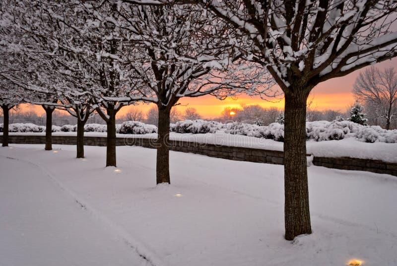 Osservatori di Sun che godono del tramonto immagini stock libere da diritti
