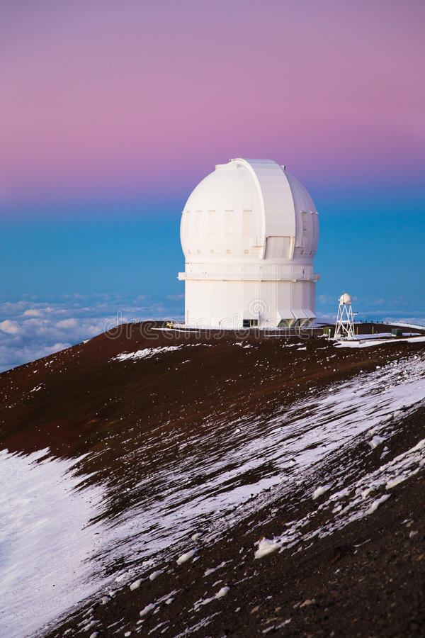 osservatorio immagine stock
