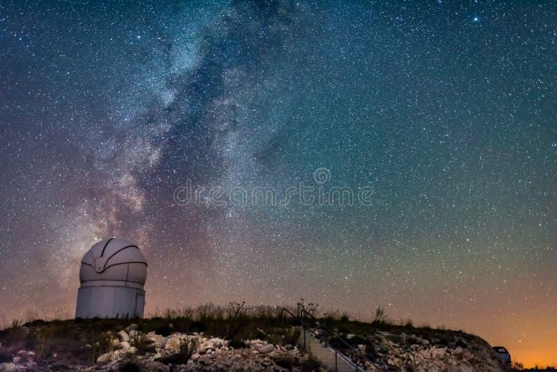 Osservatorio Adalia di Tubitak immagine stock