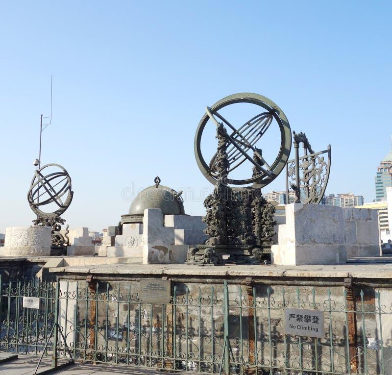 Osservatorio antico immagine stock