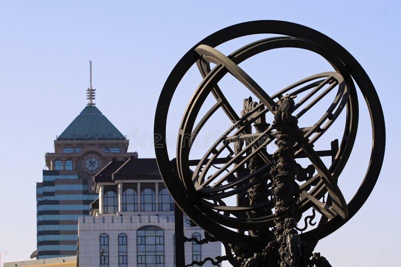 Osservatorio antico di Pechino fotografia stock