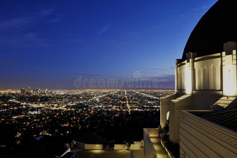Osservatorio del Griffith immagine stock libera da diritti