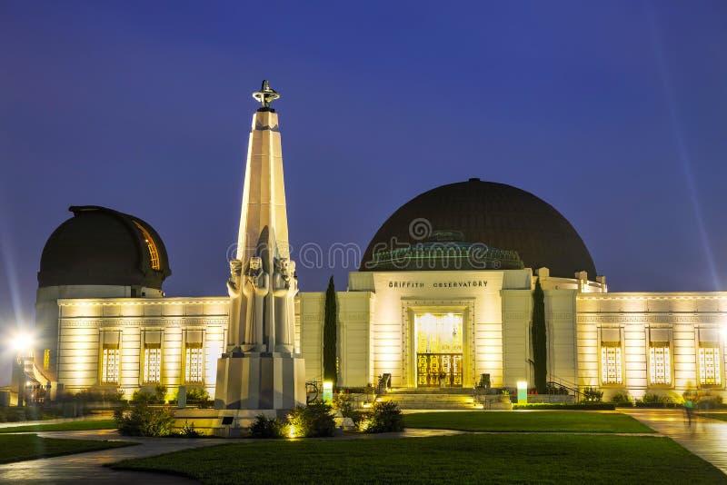 Osservatorio del Griffith a Los Angeles fotografia stock