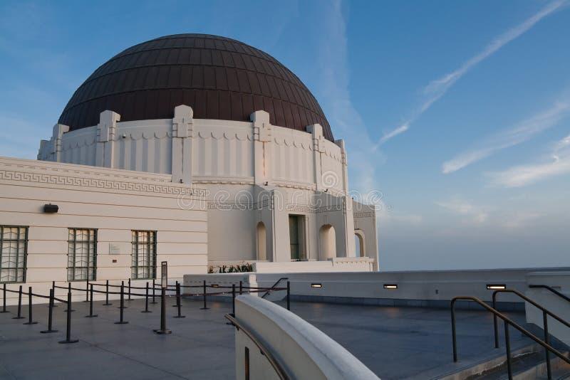 Osservatorio del Griffith, Los Angeles, California fotografie stock