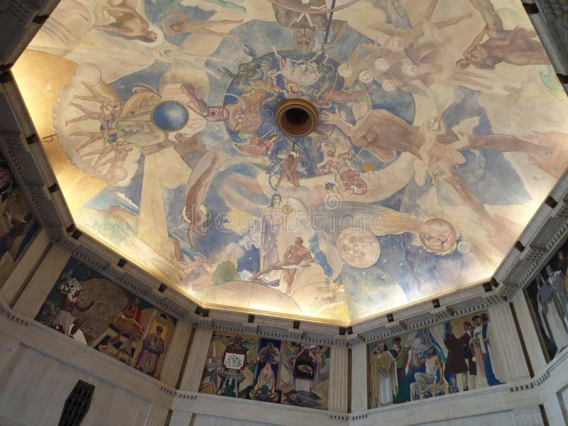 Osservatorio del Griffith a Los Angeles fotografie stock