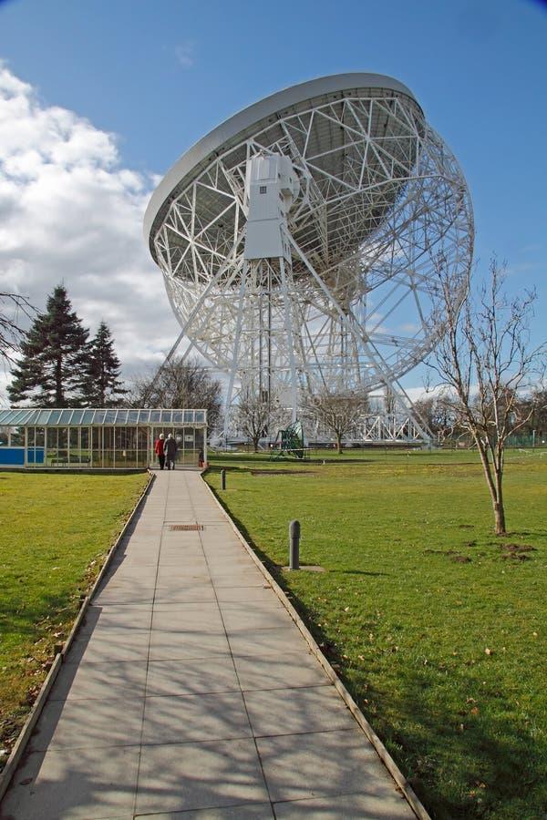 Osservatorio della Banca di Jodrell immagine stock