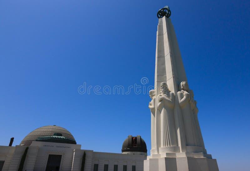 Osservatorio della sosta del Griffith immagini stock