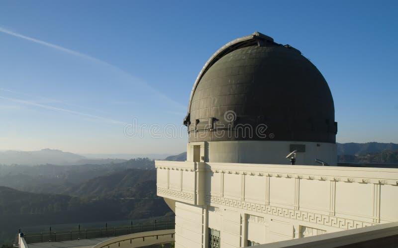 Osservatorio della sosta del Griffith a Los Angeles, S.U.A. immagine stock libera da diritti