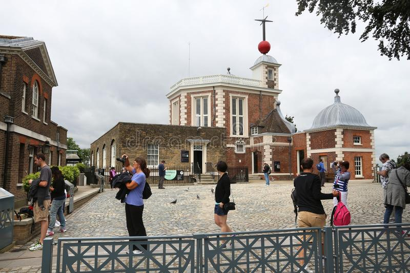 Osservatorio di Greenwich immagine stock libera da diritti