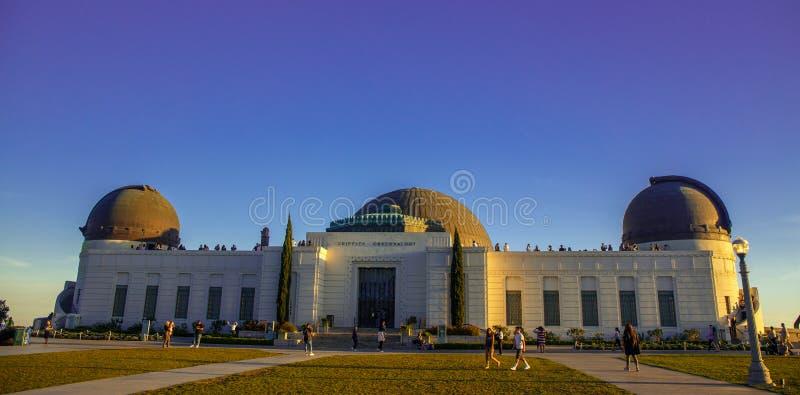 Osservatorio di Griffith Park fotografia stock
