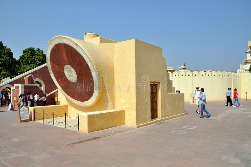Osservatorio di Jantar Mantar fotografie stock