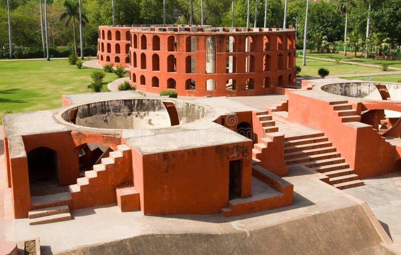 Osservatorio di Jantar Mantar fotografia stock