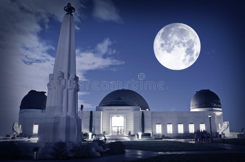 Osservatorio di Los Angeles fotografia stock