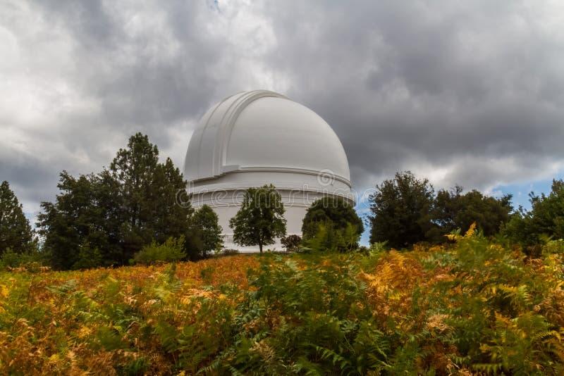 Osservatorio di Palomar del supporto immagini stock libere da diritti
