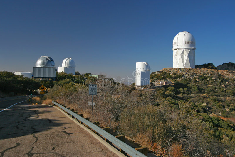 Osservatorio di punta di Kitt fotografie stock